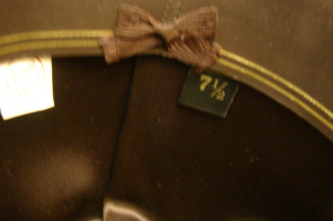 141: Resistol 4X Beaver Cowboy Hat - Size 7 1/2 - 4