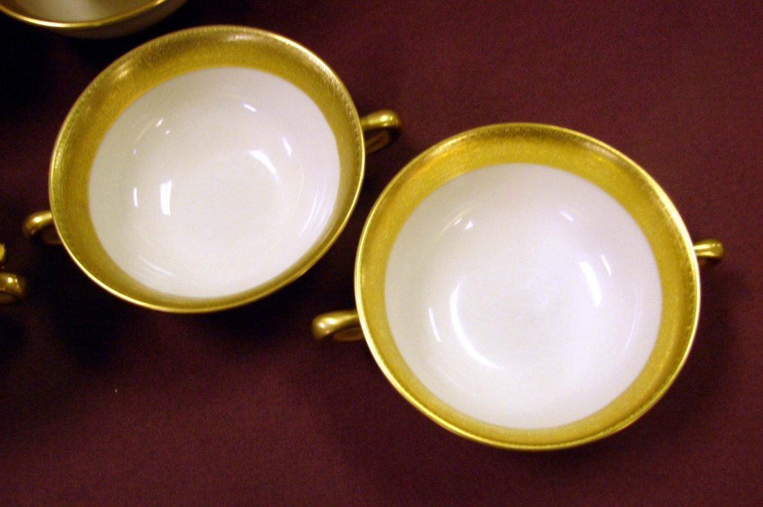 233: Lenox Westchester China Service for 8 +cream soup - 3