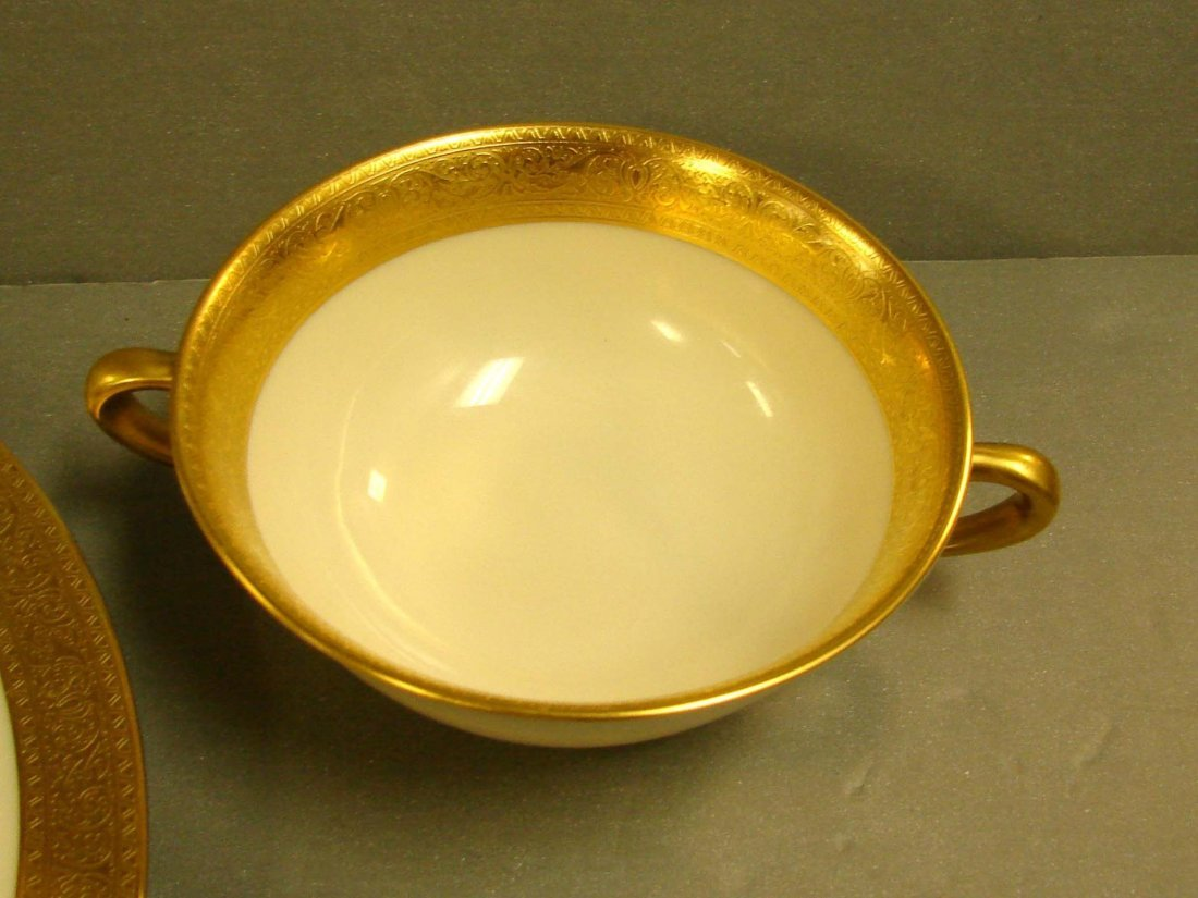 233: Lenox Westchester China Service for 8 +cream soup - 6