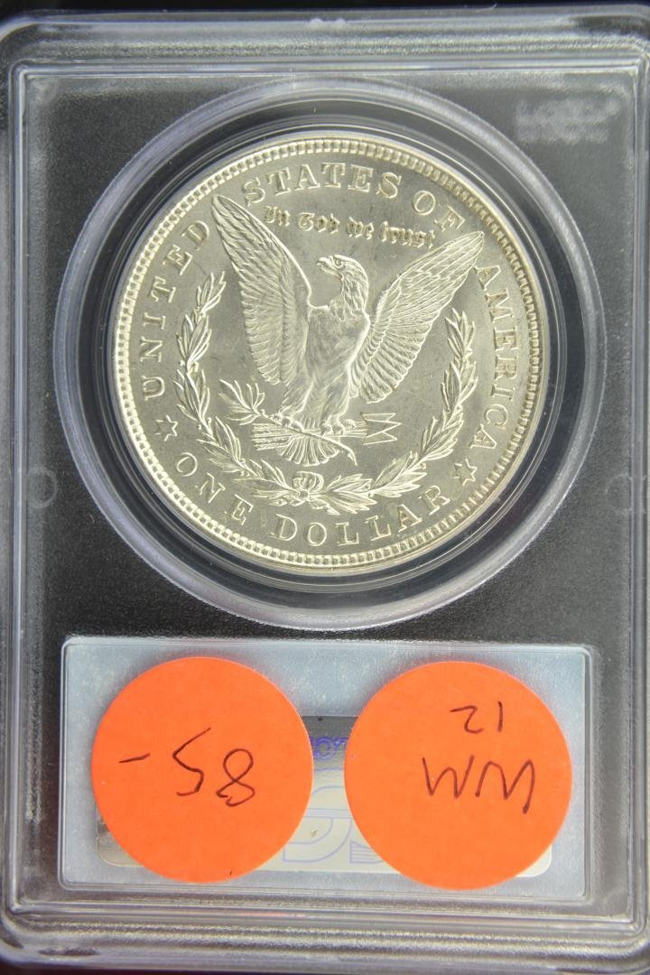 1888: 1921 $1 Morgan Silver Dollar PCGS MS 64 - 3