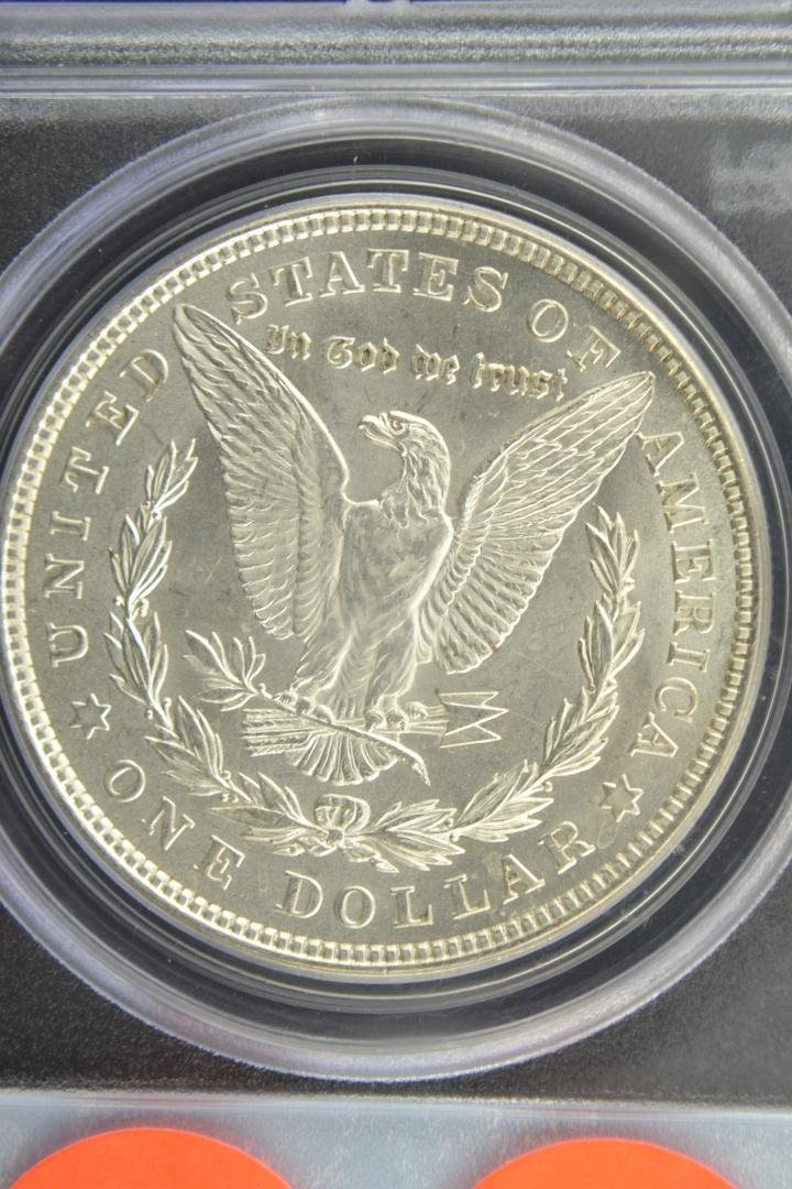 1888: 1921 $1 Morgan Silver Dollar PCGS MS 64 - 4