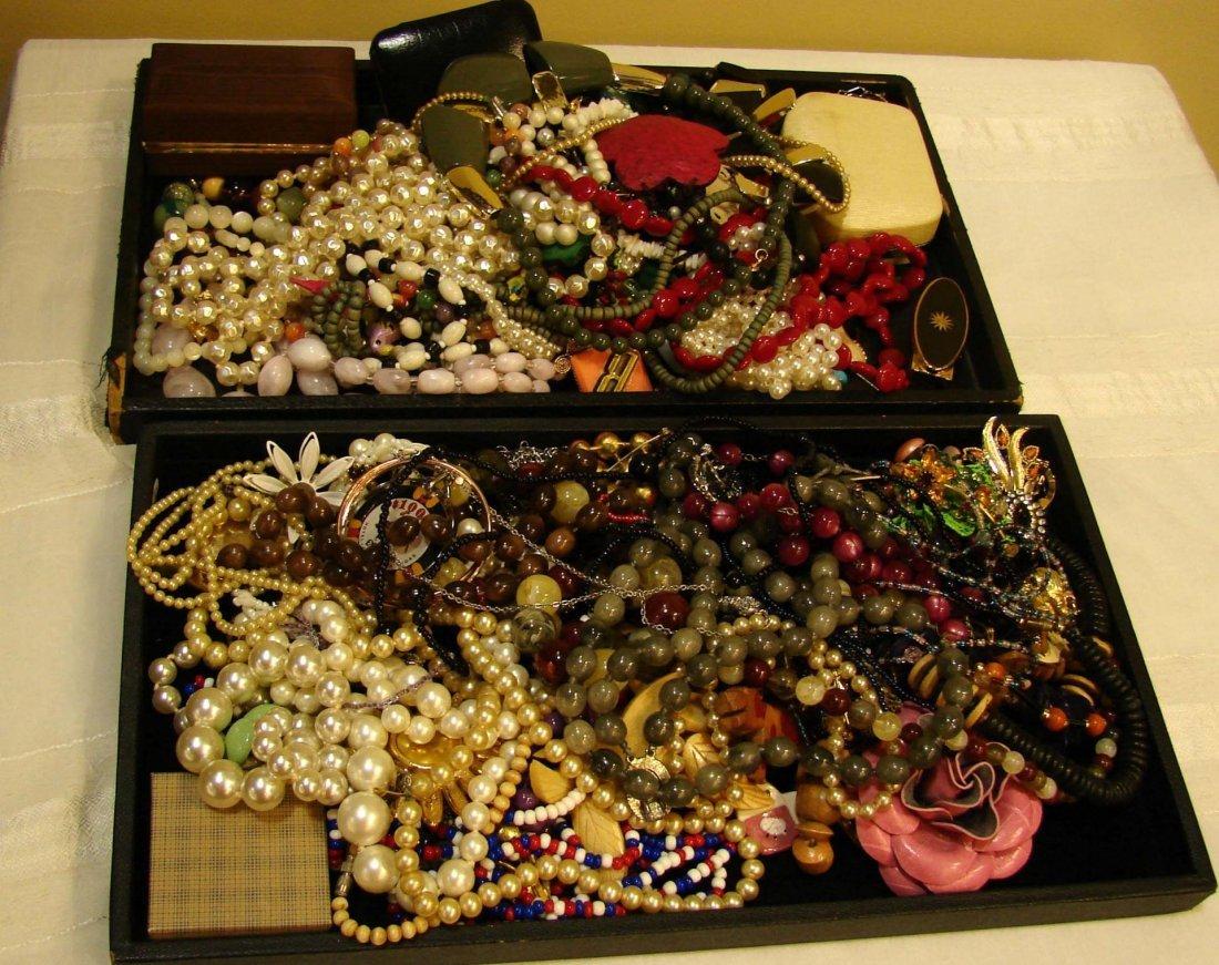 1: Huge Lot of Costume Jewelry