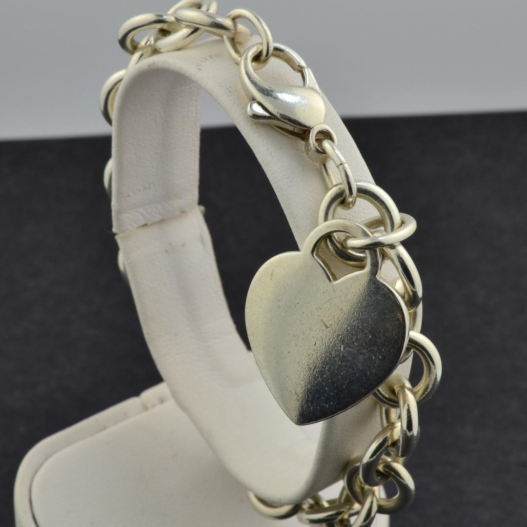 18: Tiffany & Co. 925  Silver Link Bracelet