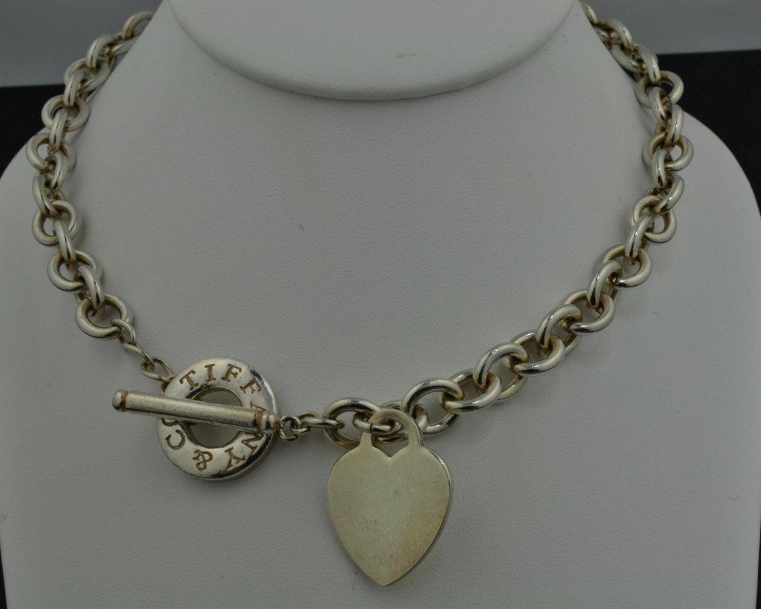 19: Tiffany & Co. 925 Silver Necklace