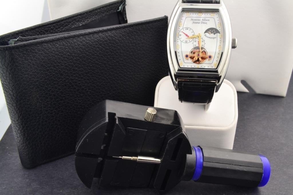 88B: Montres  Allison Mans  Automatic Watch - 3