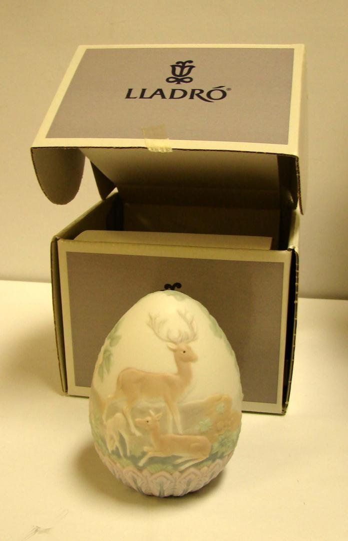 3: Lladro 1996 Limited Edition Egg