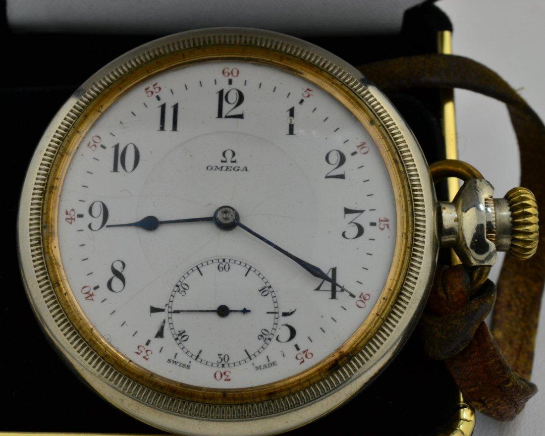 6: Omega 17 Jewel Pocket Watch