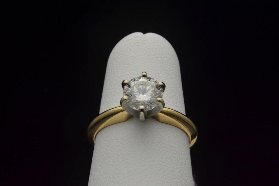 7: 14k yg 1ct Lady's Diamond Ring