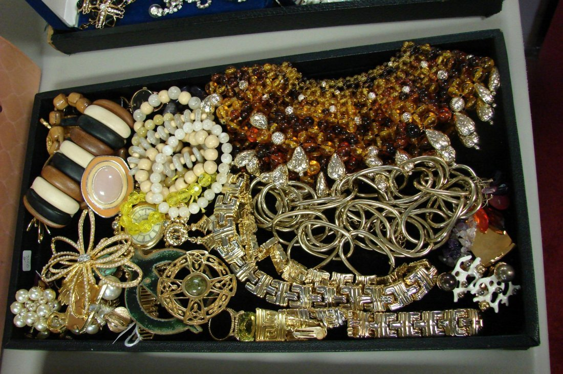 3: Lot of Vintage Costume Jewelry