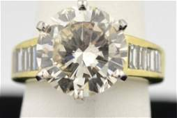 59: 18k yg 5.02 ct Lady's Diamond Ring