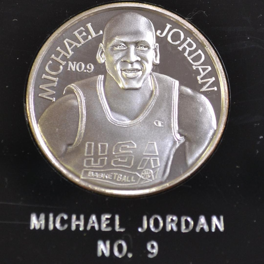 """97: 1992 """"Dream Team""""  12oz. .999 Silver"""