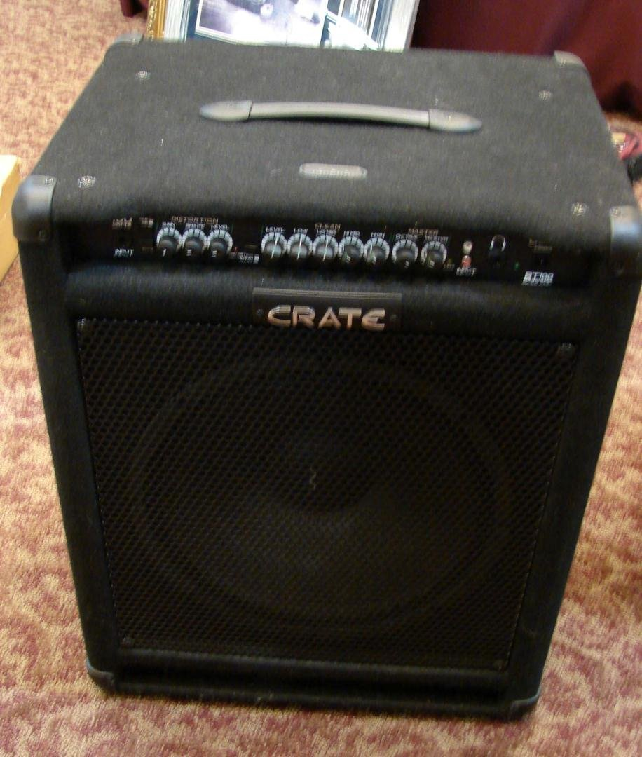 250: Crate Bass AMP: BT 100 with foot pedal - 2