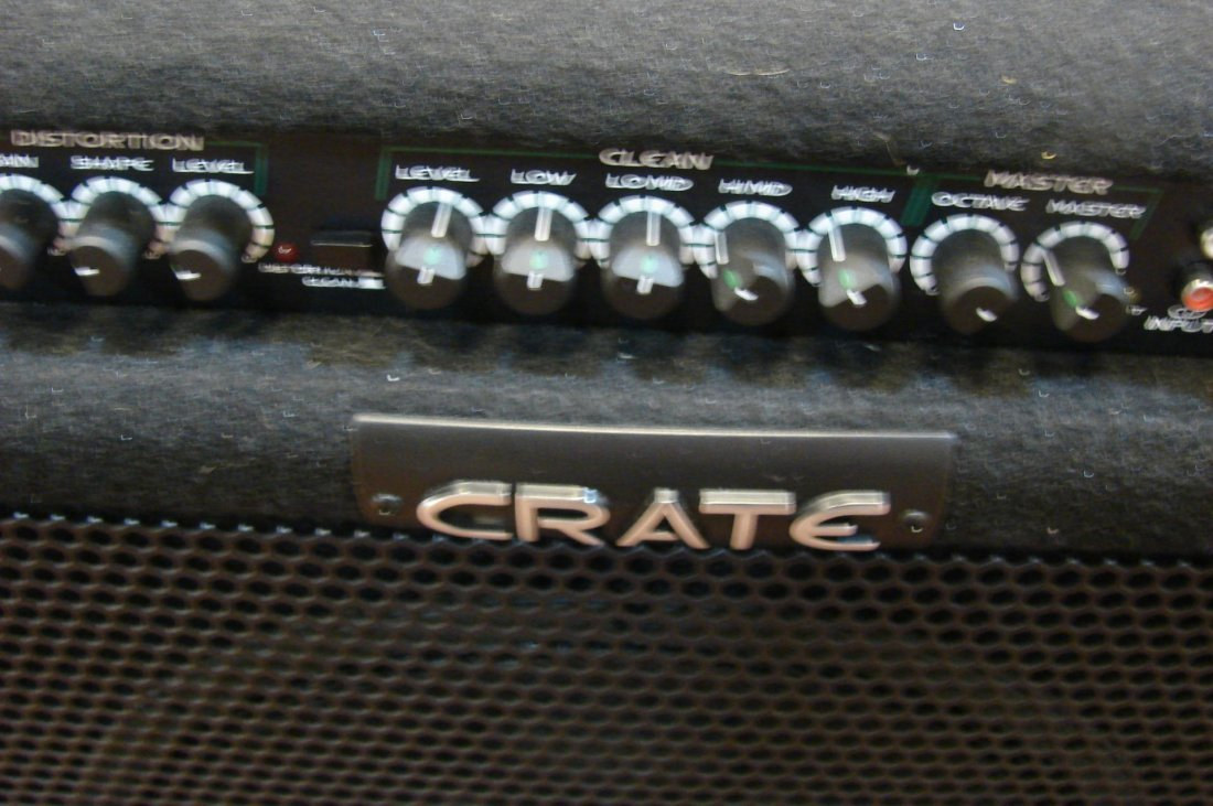250: Crate Bass AMP: BT 100 with foot pedal - 3
