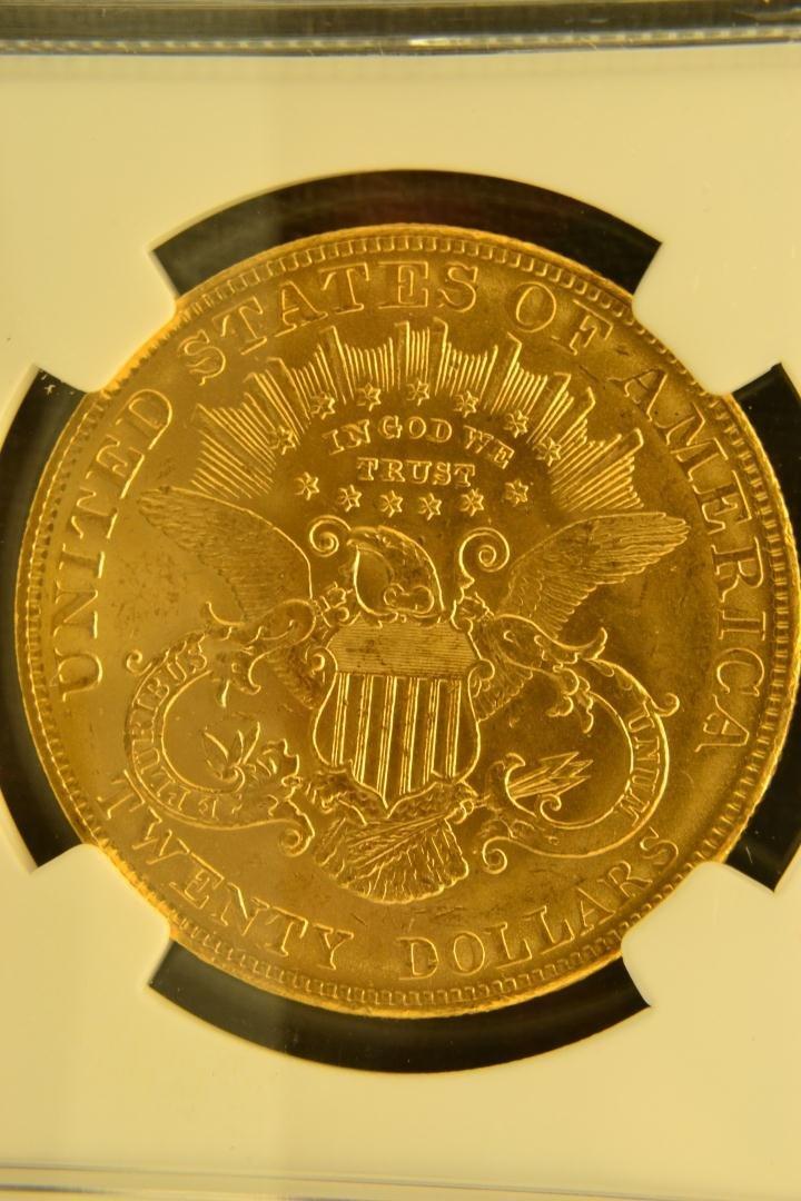 1333: 1904 $20 Liberty NGC MS63 - 4
