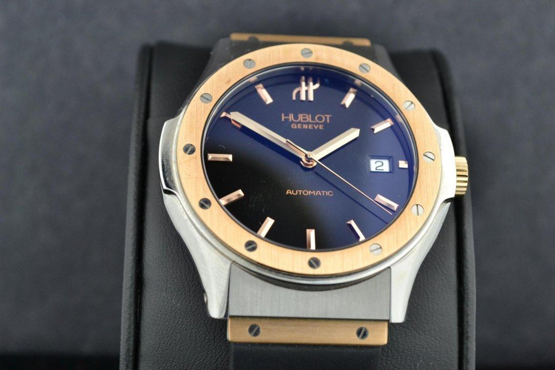 65A: 18k Pink Gold HUBLOT Classic Mans Watch #1915-7