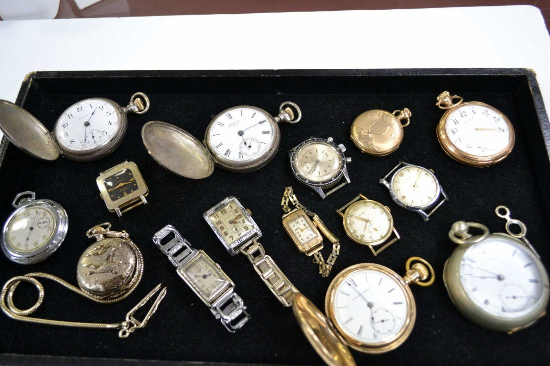 2: Lot of vintage watches & pocket watches