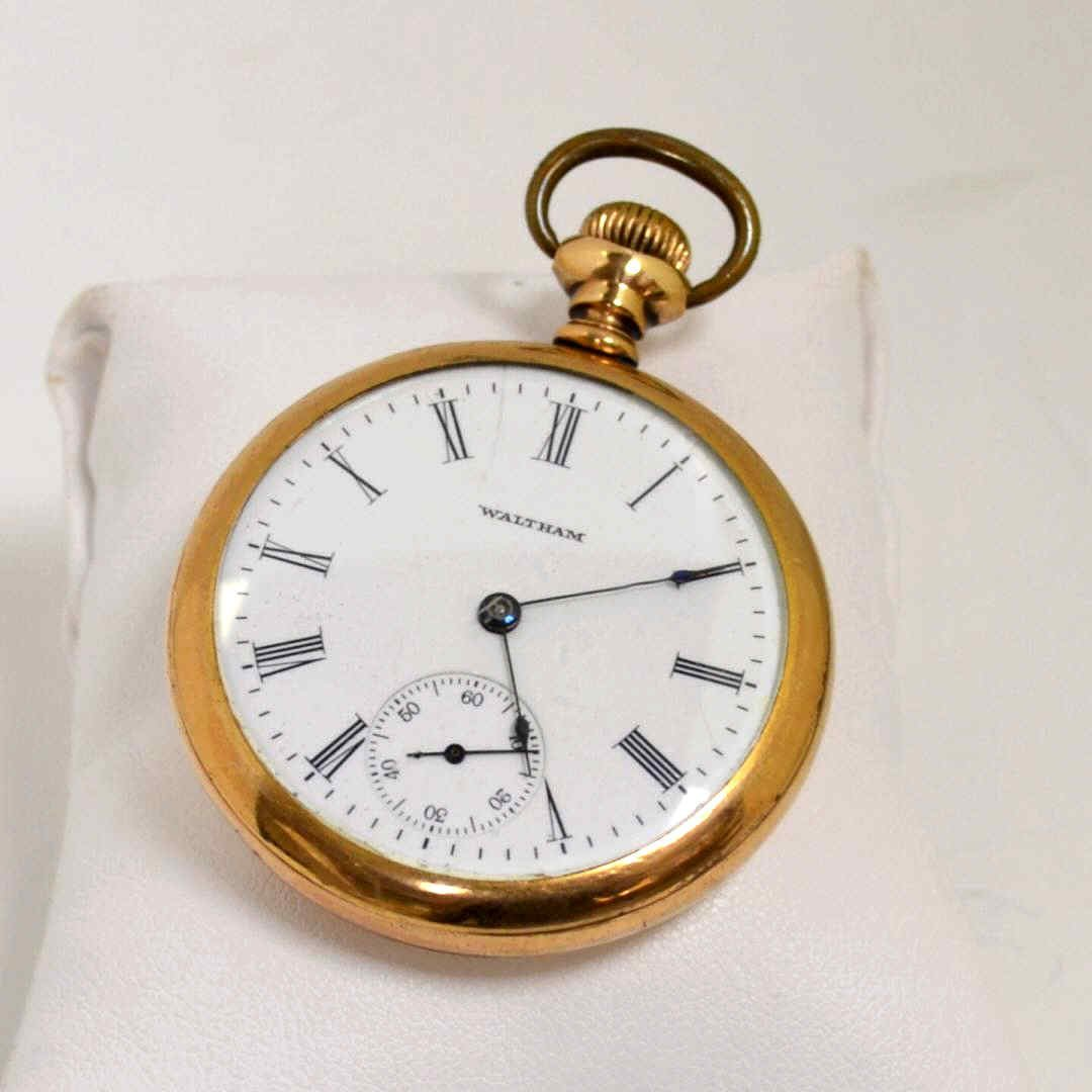 9: Gold Filled Waltham Pocket Watch