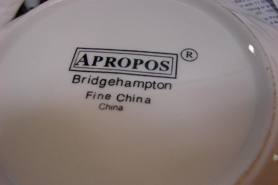 126A: Bridgehampton Apropos Fine China Svc. for 8++ - 3