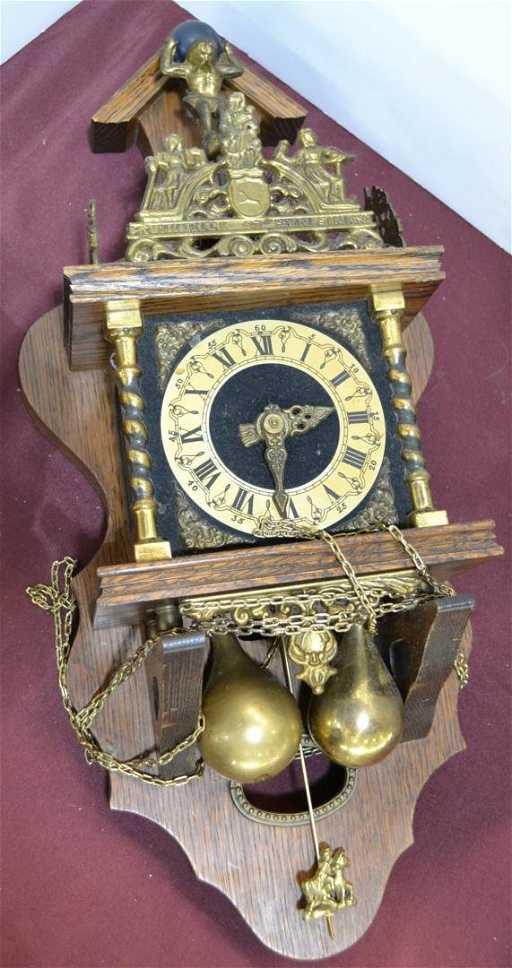 209a Atlas Wall Clock Quot Nu Elck Syn Sin Quot