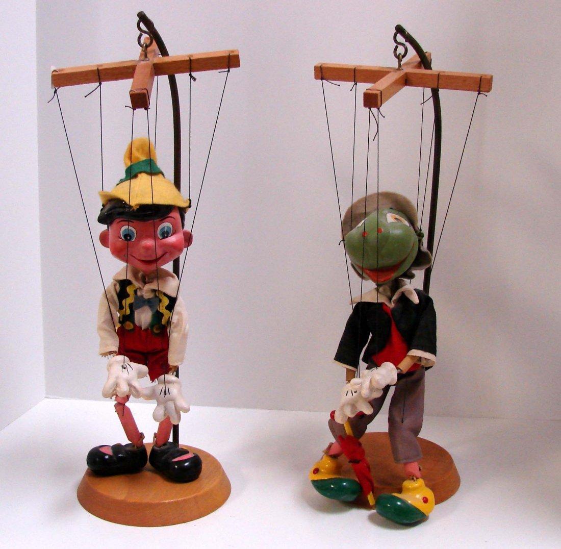 191: Vintage Pelham Puppets: Pinocchio & Jiminy Cricket