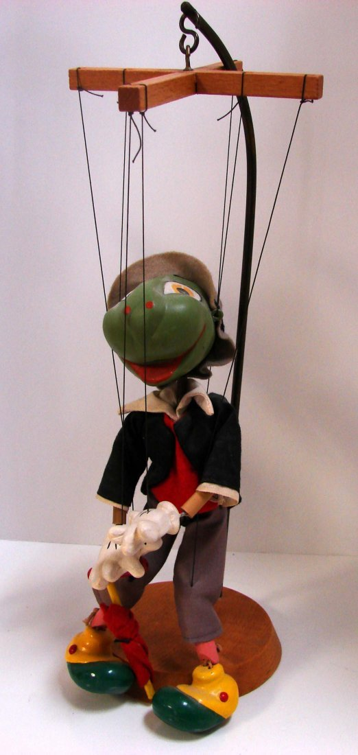 191: Vintage Pelham Puppets: Pinocchio & Jiminy Cricket - 2
