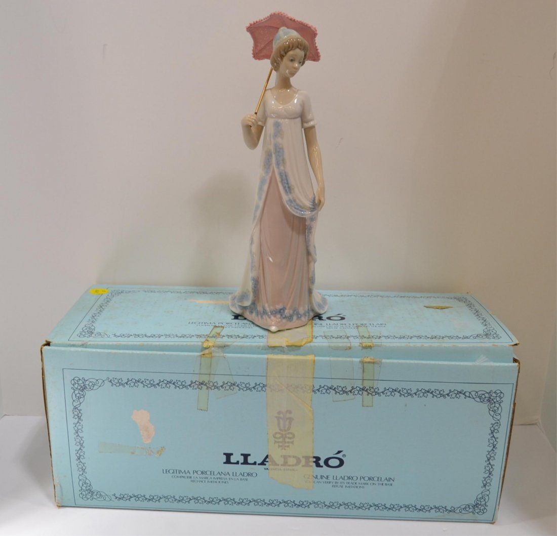 12: Lladro Viennese Lady #5322 with Box
