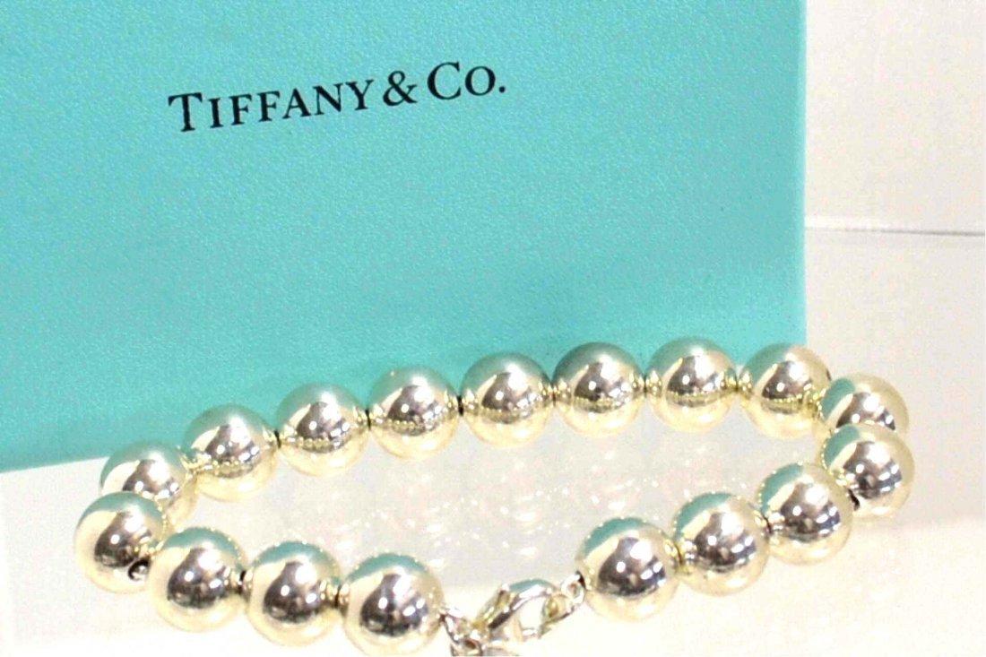 5: Sterling Ball Bracelet by Tiffany & Co