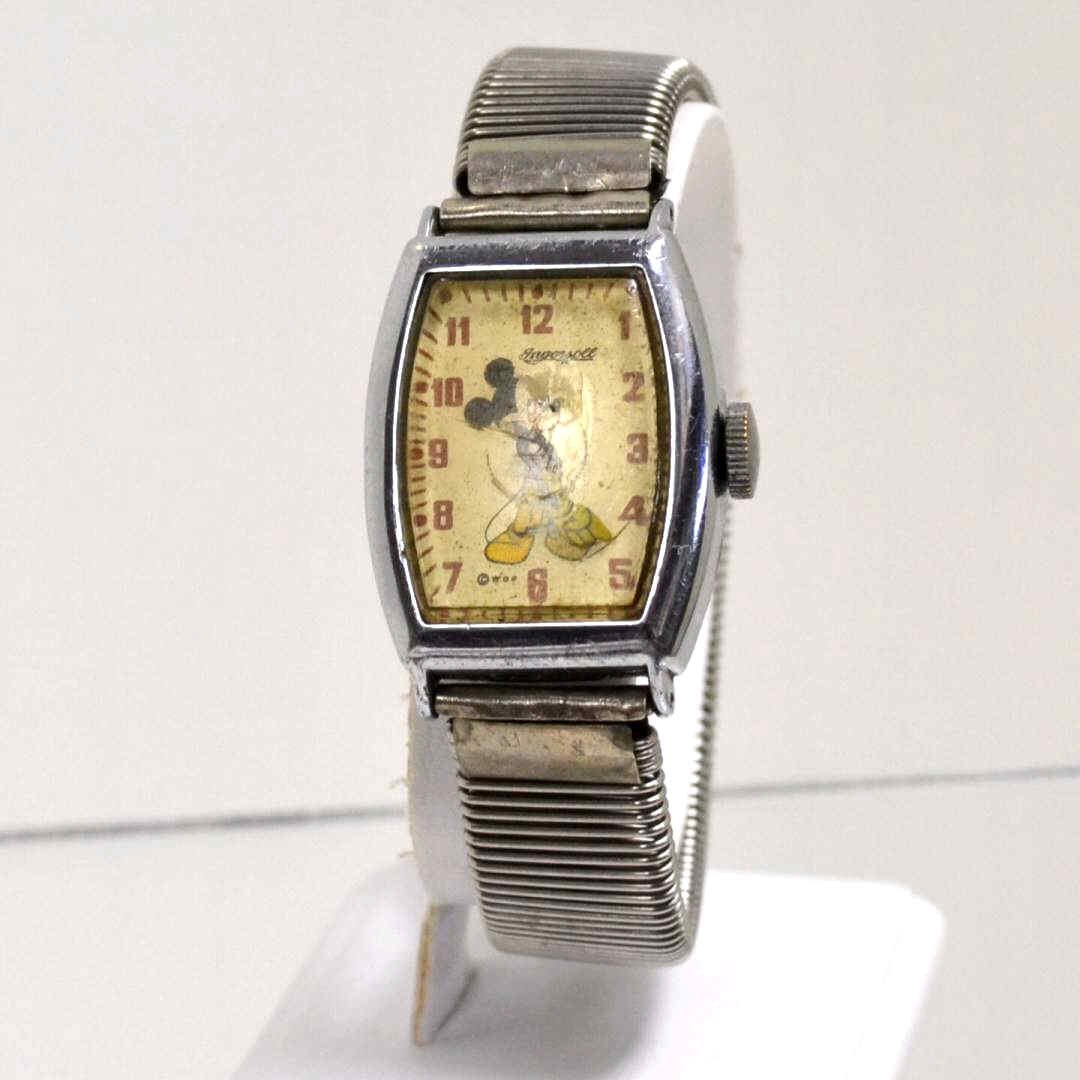 9: Vintage Mickey  Mouse Ingersoll watch