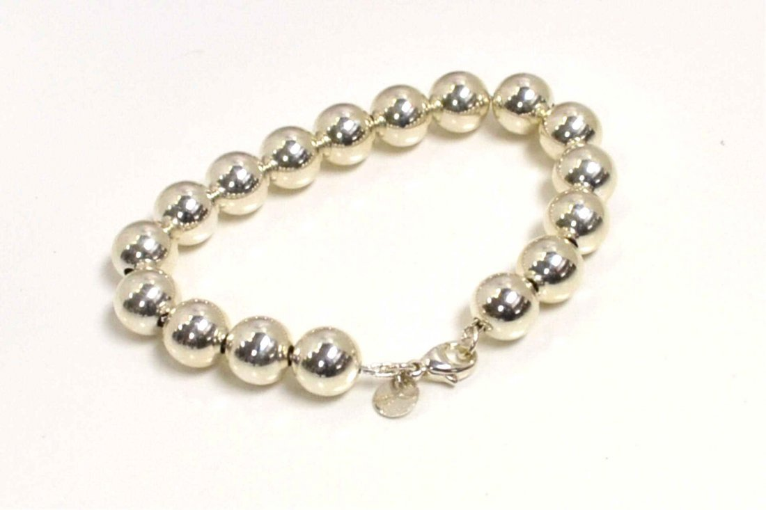8: Sterling Bead Bracelet by Tiffany & Co