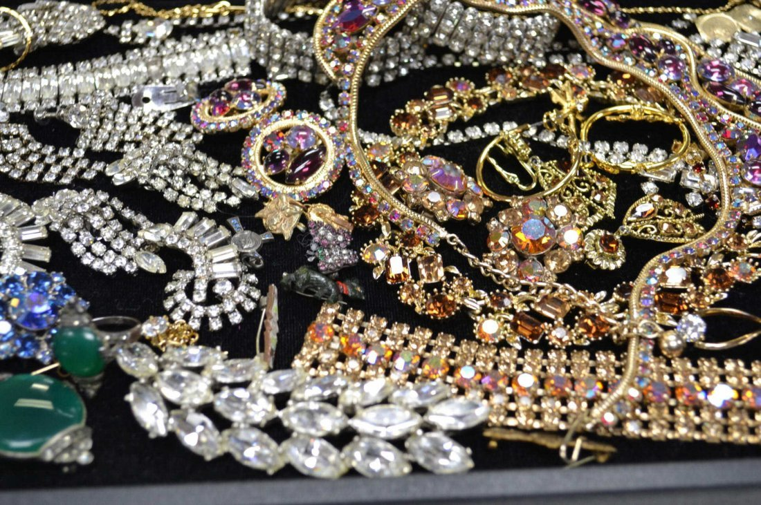 Lot of Costume Jewelry  Some Weiss