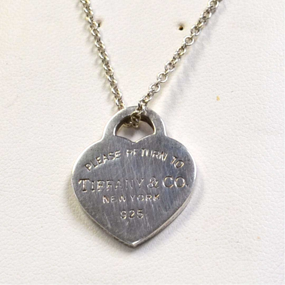Sterling Heart Pendant by Tiffany & Co
