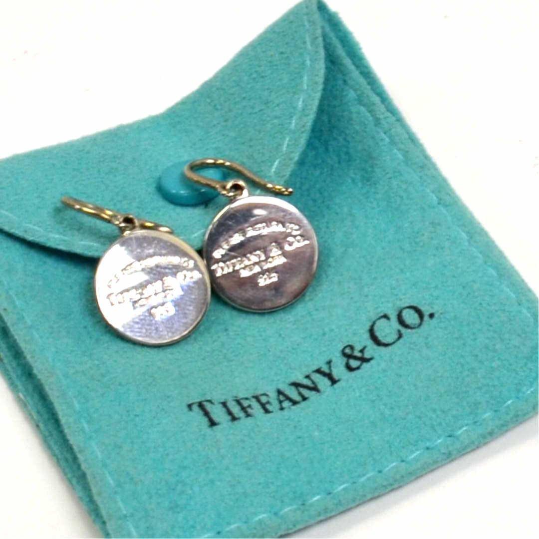 Sterling Drop Earrings Tiffany & Co