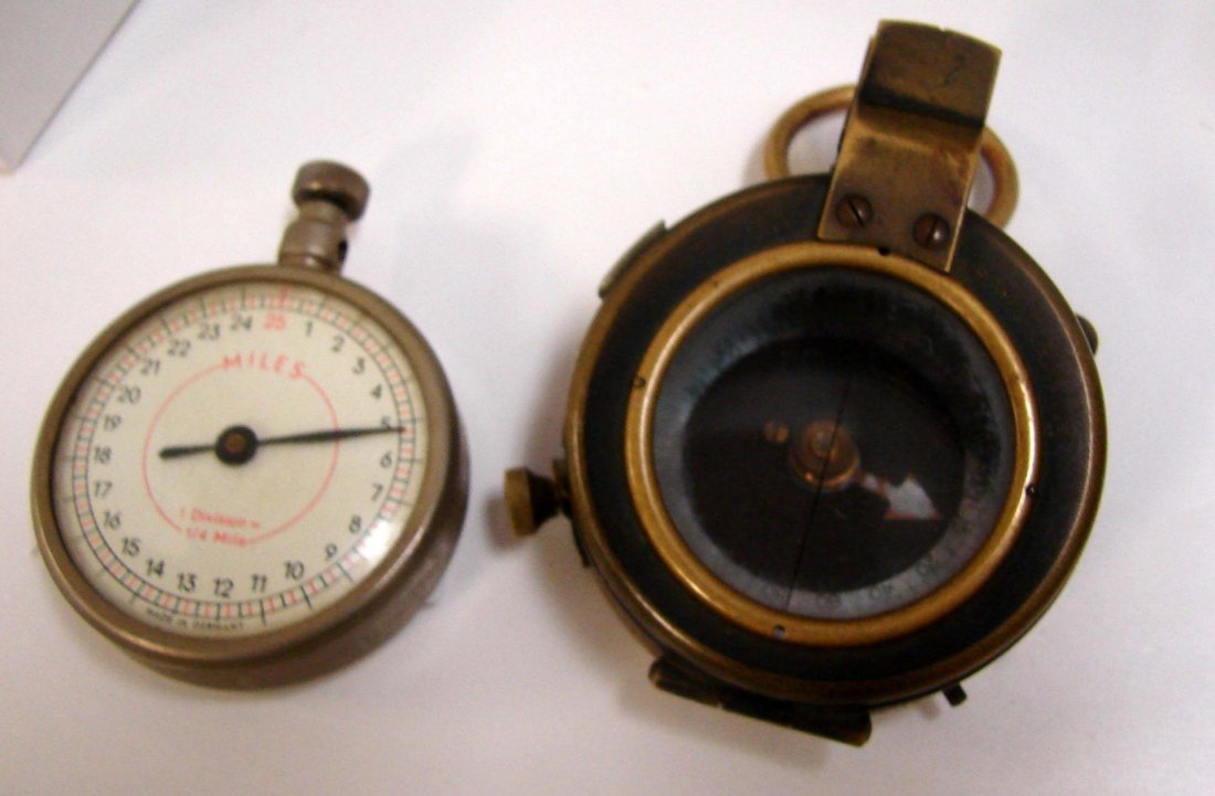 Military Compass & Distance Meter