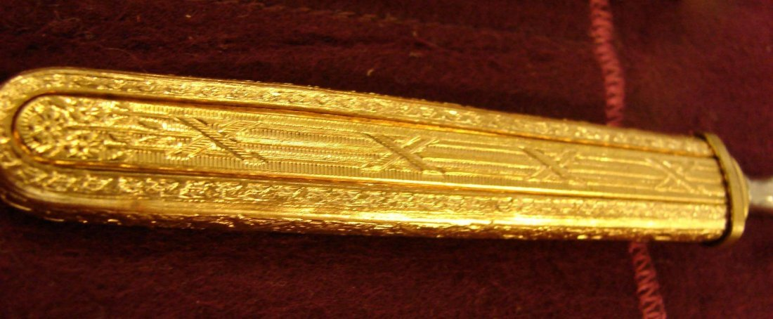 Vintage Gold Handled Manicure Set - 2