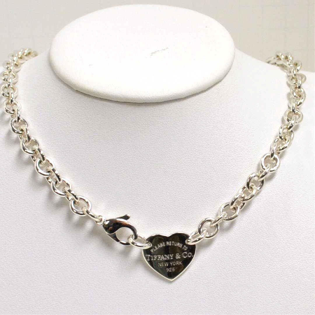 Sterling Heart Necklace Tiffany & Co