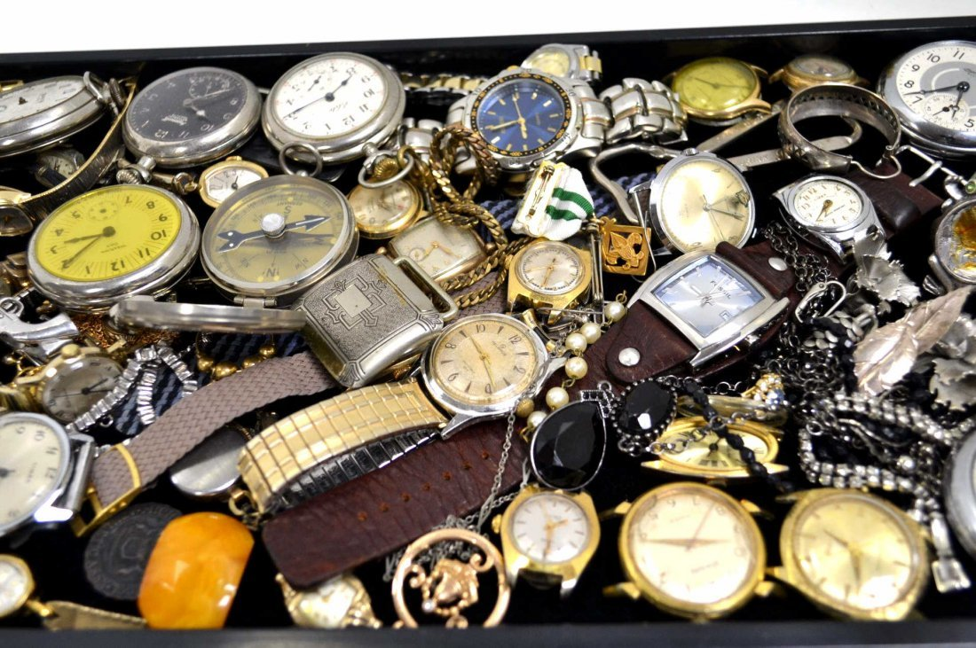 Lot of Watches & Jewelry