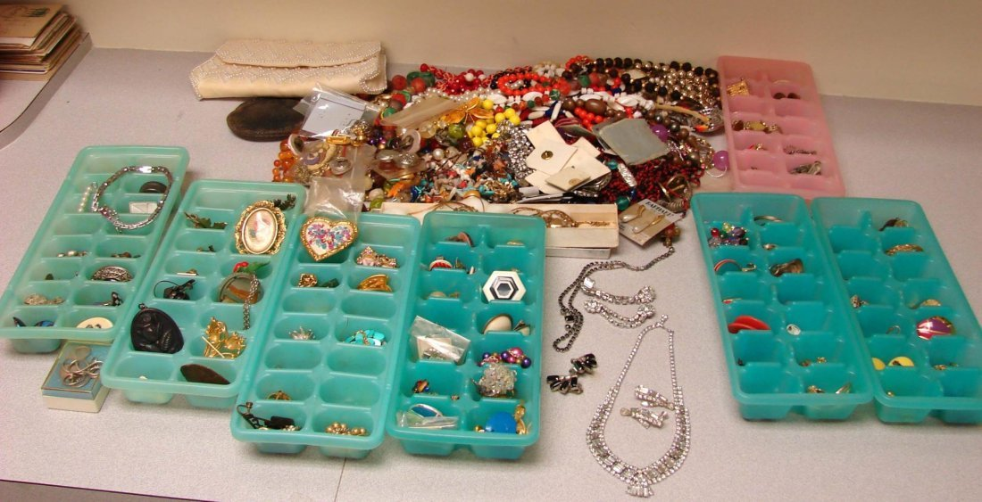 Huge lot of Costume Jewelry