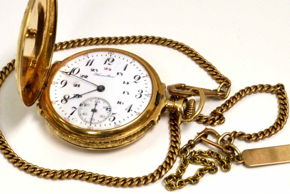 14k Hamilton Pocket Watch