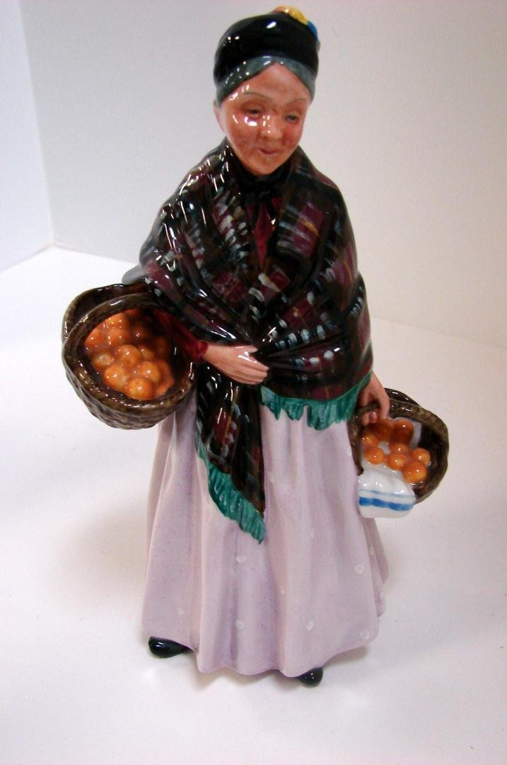 "Royal Doulton Figurine ""The Orange Lady"""