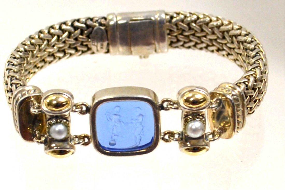 Sterling & 18k Flli Menegatti Bracelet