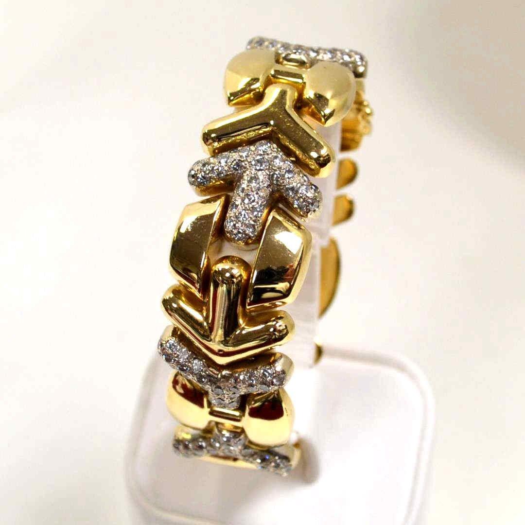 14kyg Fancy Diamond Bracelet 2ctw