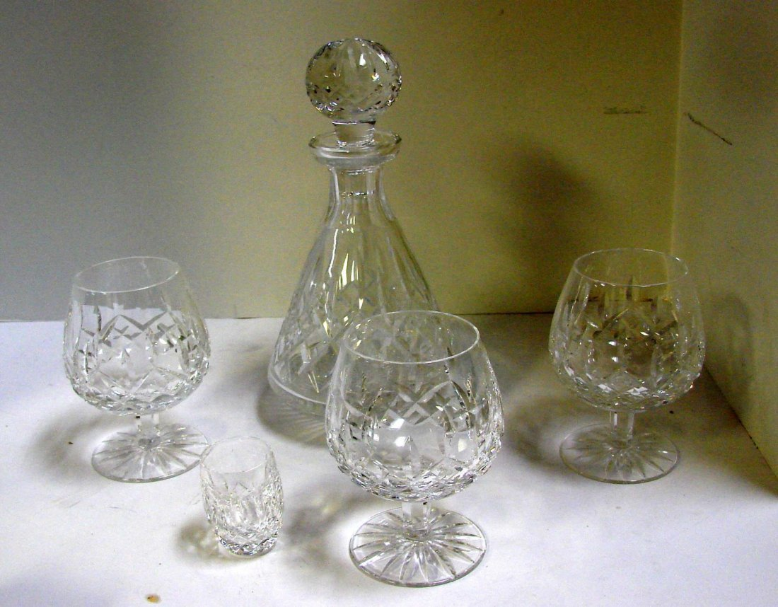 Waterford Lismore Roly Poly Decanter, 3 Brandy ++