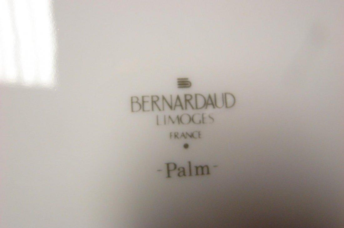 Limoges Bernardaud China Palm Pattern; svc. for 12 - 3
