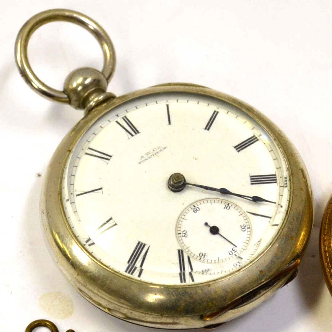 2 Waltham Pocket Watches