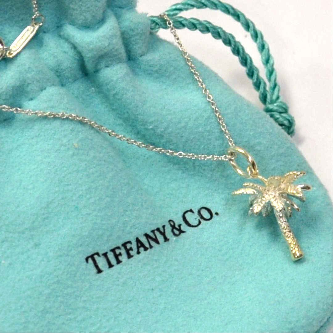 Sterling Palm Tree Pendant Tiffany & Co