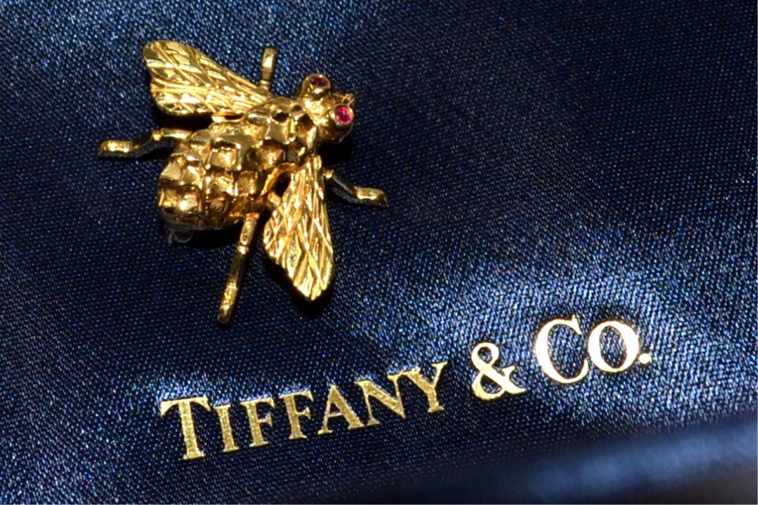 18kyg Bumble Bee Brooch Tiffany & Co