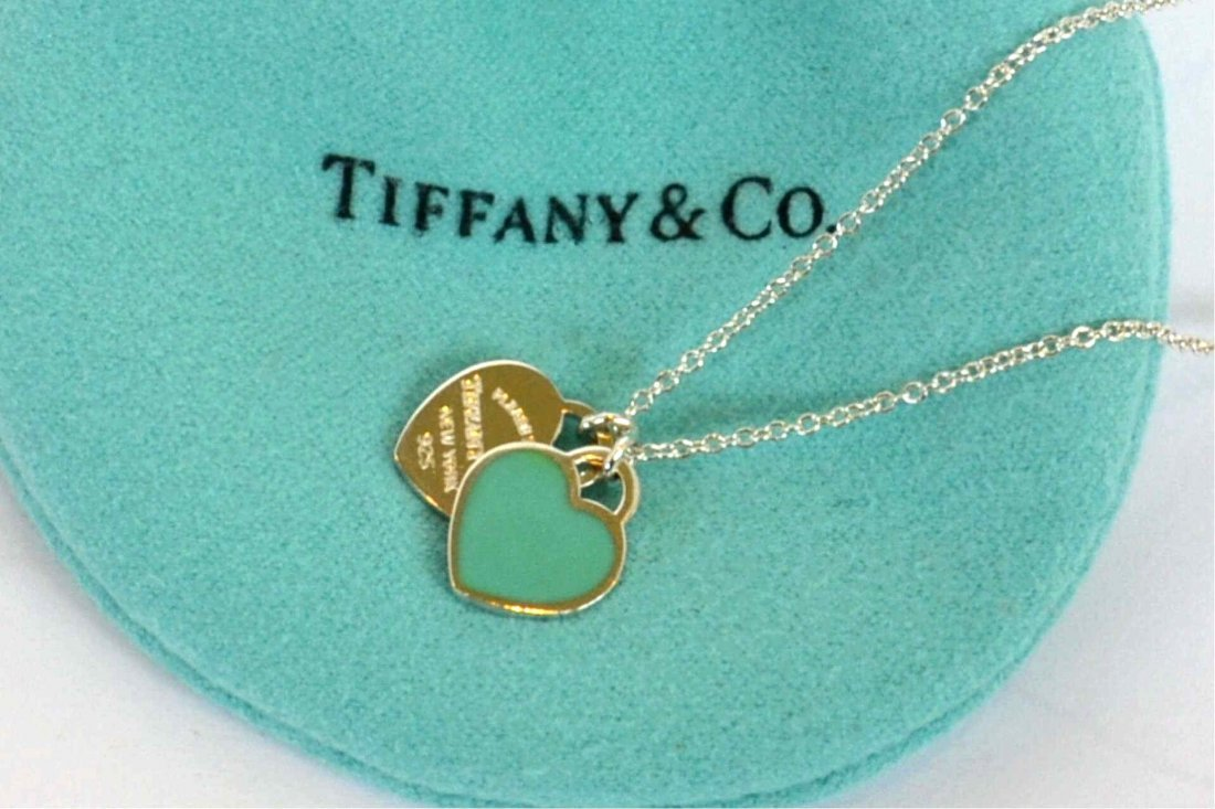 Sterling Heart Necklace By Tiffany & co