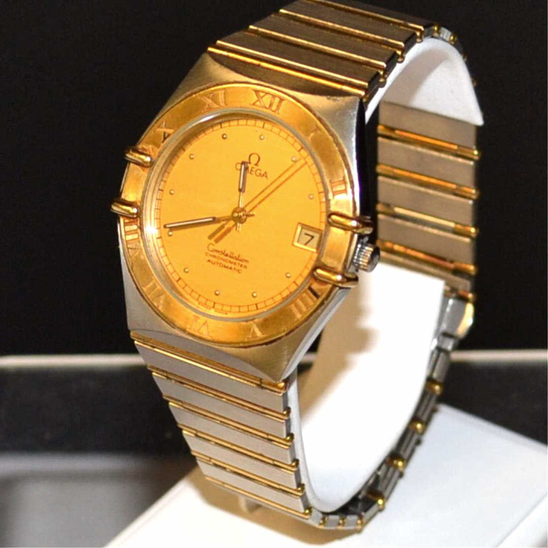 18k/stainless Omega Constellation Automatic