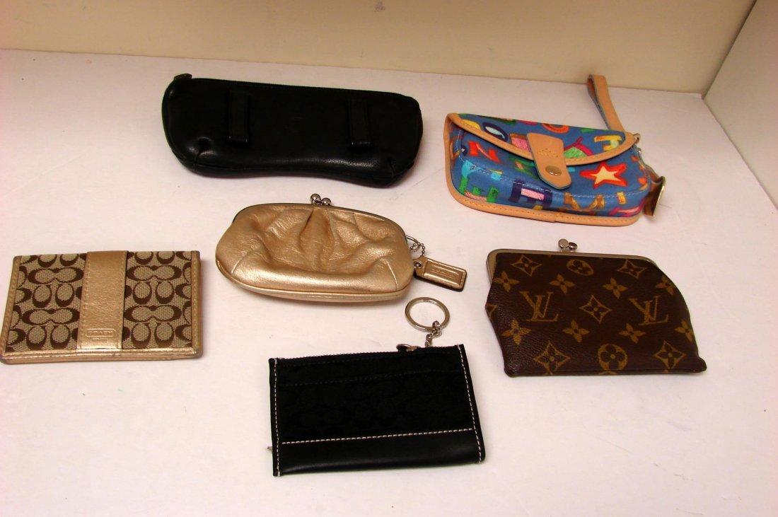 Dooney & Bourke, Coach, L. Vuitton Pouch Wallet