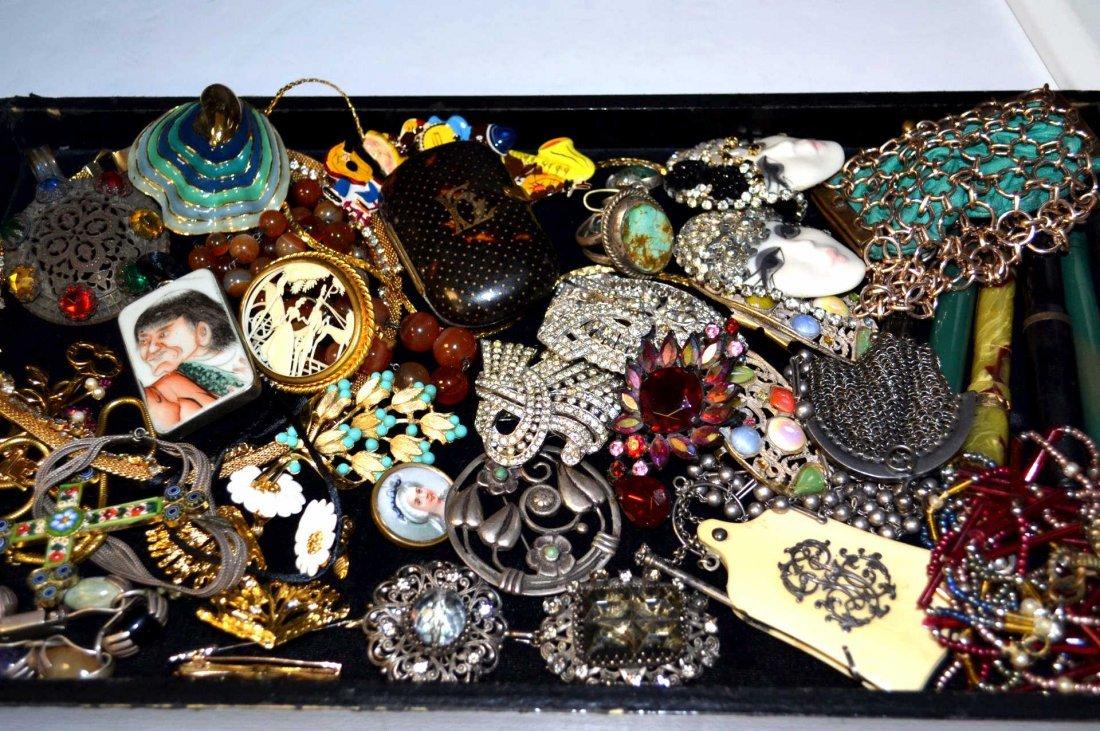 Assortment of Fine Costume Jewelry